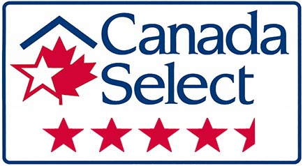 Canada Select Rating 4.5 Star
